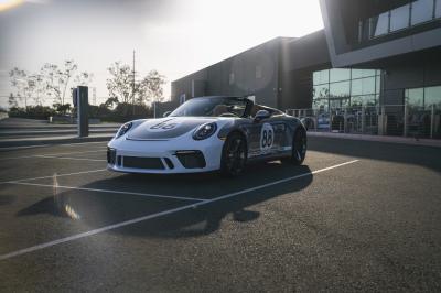 Porsche 911 Speedster | Les photos de l'ultime exemplaire à vendre aux enchères