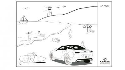 Lexus | Les images des activités proposées par la marque pour le confinement