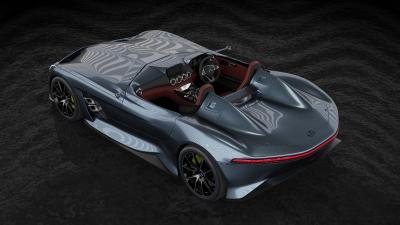 Mercedes AMG GT Silver Echo | Les photos du rendu hommage à Stirling Moss ?