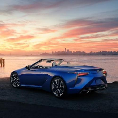 Lexus LC Convertible | Les photos du cabriolet en détails et en couleurs