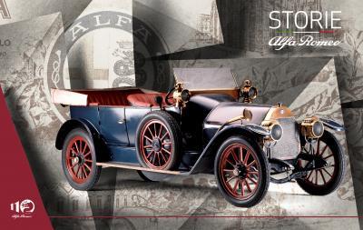 Alfa Romeo - 1906 à 1913 | Les photos des origines de la marque italienne