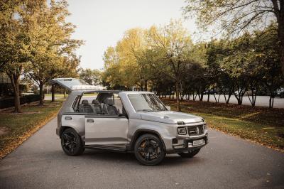 G-Niva | Les photos du concept art Lada Niva inspiré du Mercedes Classe G
