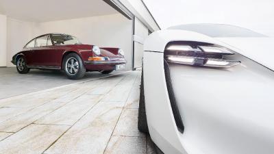 Porsche 911 | Quand la 911 E rencontrait la Mission E