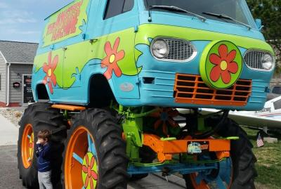 The Monstery Machine | les photos de la camionnette de Scooby Doo en vente sur eBay