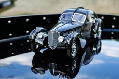Delahaye USA Pacific | Les photos de la réplique de Bugatti Type 57 SC Atlantic