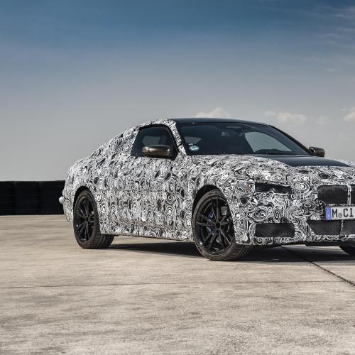BMW Série 4 Coupé | les photos officielles du camouflage