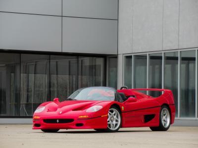 Ferrari F50 | Les photos de la supercar à vendre chez RM Sotheby's