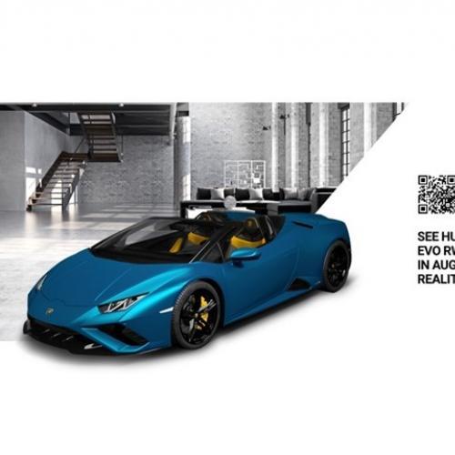 Lamborghini Huracan EVO RWD Spyder | Les photos de la sportive à toit rétractable
