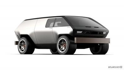 Brubaker Box Minivan | les photos du concept de van du futur