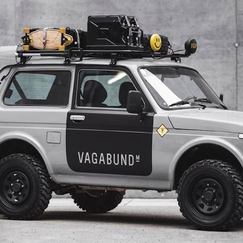 Vagabund Moto Lada Niva | Les photos du tout-terrain préparé