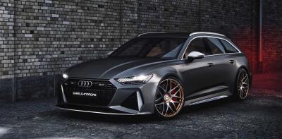 Audi RS6 by Wheelsandmore | Les photos du break de l'enfer de 1010 chevaux !