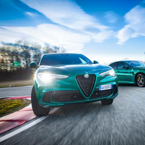 Alfa Romeo Giulia et Stelvio Quadrifoglio | Les photos des modèles sportifs millésime 2020