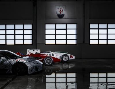 Maserati MC20 | Les photos officielles du proto en tenue de camouflage