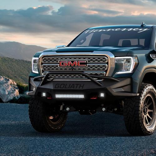 Hennessey Goliath 700 | Les photos du pick-up GMC Sierra préparé