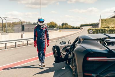 Bugatti Chiron Pur Sport | les photos officielles sur circuit