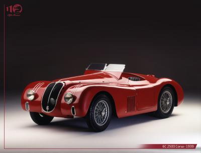 Alfa Romeo 6C 2500 | Les photos de la belle italienne entre 1939 et 1949