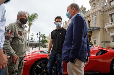 Les images de Charles Leclerc à Monaco pour le court-métrage de Claude Lelouche