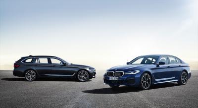 BMW Série 5 (2020) | Les photos officielles de la berline et du break restylés