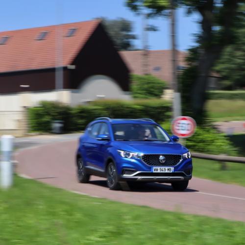 MG ZS EV | Toutes les photos de notre essai du SUV sino-britannique