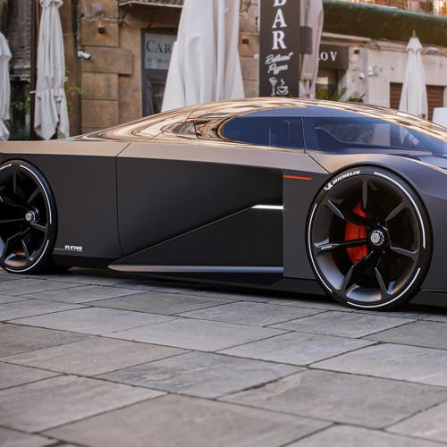 Koenigsegg RAW Concept | Les images de la supercar d'Esa Mustonen