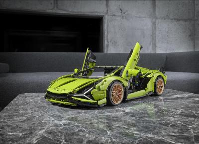 Lamborghini Sián by Lego Technic | Les photos officielles de la supercar au 1:8