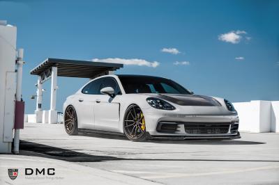 Porsche Panamera by DMC | Les photos du kit carrosserie en carbone