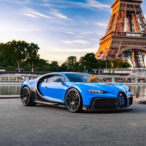 Bugatti Chiron Pur Sport | l'hypercar en tournée européenne fait escale à Paris