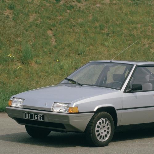 Citroën BX   les photos officielles