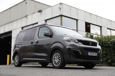 Klubber version Peugeot Expert | nos photos du van aménagé