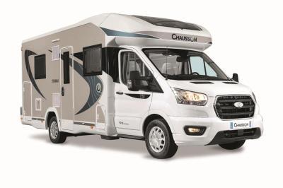 Camping-car Chausson Titanium 720 | Les photos officielles du profilé français