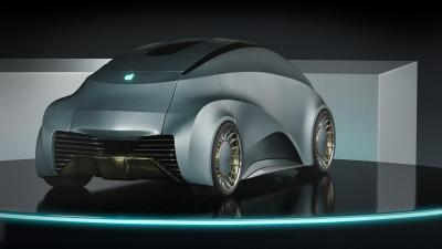 Apple iCar revisitée | Les photos du concept de Dejan Hristov