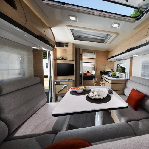 Caravane Caravelair Allegra Optima 560   Les photos officielles du modèle français