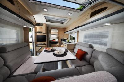 Caravane Caravelair Allegra Optima 560 | Les photos officielles du modèle français