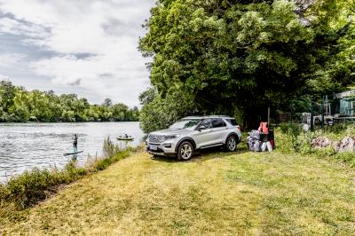 Ford Explorer Plug-In Hybrid | Les photos du massif SUV hybride rechargeable