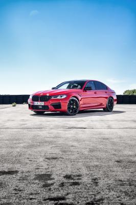 BMW M5 Competition | les photos officielles de la puissante berline allemande restylée