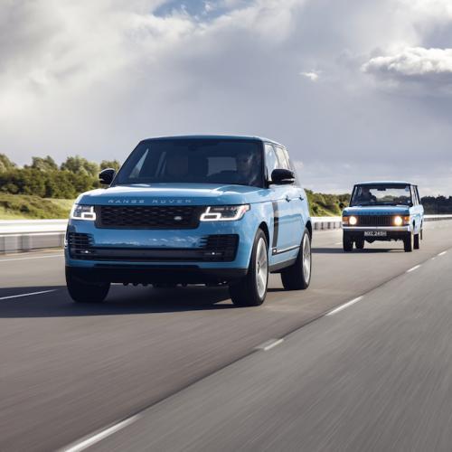 Range Rover Fifty | Les photos officielles de la série limitée