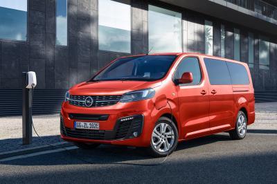 Opel Zafira-e Life | Les photos du van 9 places 100% électrique
