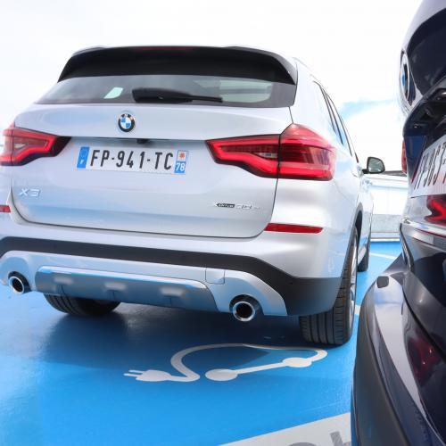 BMW X1 et X3 hybrides rechargeables | Toutes les photos de l'essai des deux SUV semi-électriques