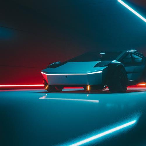 Tesla Cybertruck   les photos du concept de Khyzyl Saleem