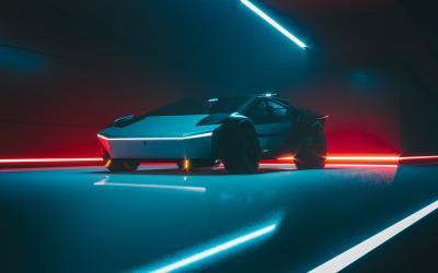Tesla Cybertruck | les photos du concept de Khyzyl Saleem