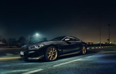 BMW Série 8 Golden Thunder Edition | Les photos officielles de la série spéciale
