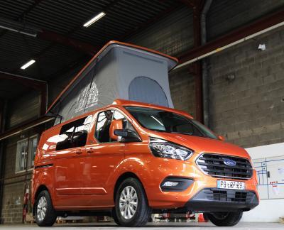 Klubber version Ford Transit Custom | nos photos du van aménagé