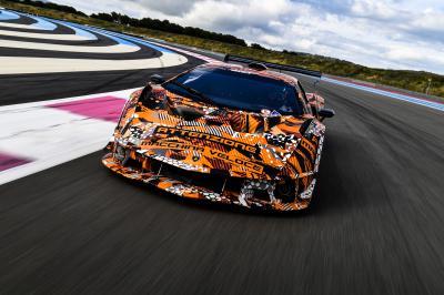 Lamborghini SCV12 | Les photos de l'hypercar en fin de développement
