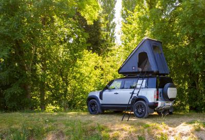 Autohome & Land Rover | Les photos du Defender toit relevable