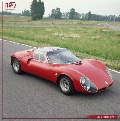 Alfa Romeo Tipo 33 Stradale & Carabo | Les photos historiques