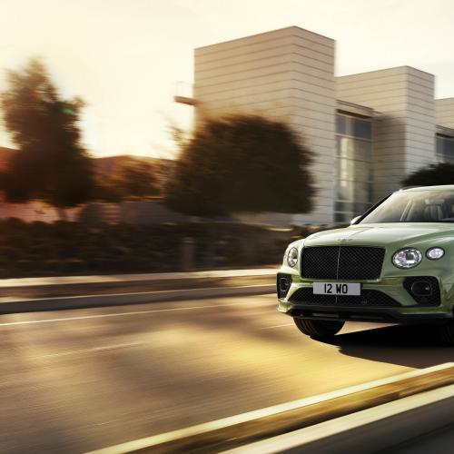 Bentley Bentayga (2020)   Les photos du SUV de luxe restylé