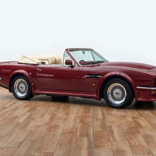 Aston Martin V8 Volante | Les photos du cabriolet ex-David Beckham