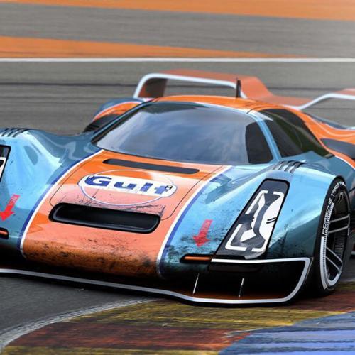Porsche 906 Hommage | Les images du concept de Riccardo Angelini