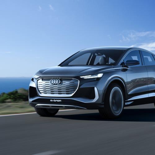 Audi Q4 e-tron Sportback (2021) | Les photos du futur SUV coupé électrique