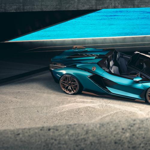 Lamborghini Sián Roadster | Les photos de l'hypercar italienne découvrable